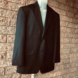 Haggar Black Suit Coat/Blazer/Jacket EUC | 40R